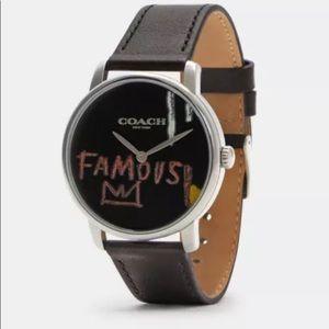 Coach X Jean-Michel Basquiat Grand Watch, 40mm C6529